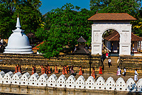 Temple of the Sacred Tooth Relic (Sri Dalada Maligawa), Kandy, Central Province, Sri Lanka.