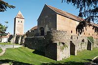 Historic city wall / Forintos-Bastion in the town of Koeszeg, Guens in Western Hungary.Historische Stadtmauer / Forintos-Bastei in der westungarischen Stadt Köszeg Güns, Ungarn