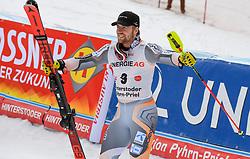 26.10.2019, Hannes Trinkl Weltcupstrecke, Hinterstoder, AUT, FIS Weltcup Ski Alpin, Alpine Kombination, Herren, Siegerehrung, im Bild Aleksander Aamodt Kilde (NOR) DRITTER PLATZ // Aleksander Aamodt Kilde of Norway THIRD PLACE during the winner ceremony for the men's Alpine combined of FIS ski alpine world cup at the Hannes Trinkl Weltcupstrecke in Hinterstoder, Austria on 2019/10/26. EXPA Pictures © 2020, PhotoCredit: EXPA/ Erich Spiess