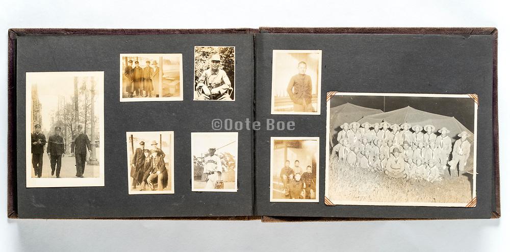 student time photo album Japan ca 1930s - 1940s