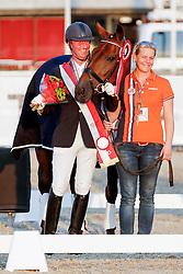 Hosmar Frank (NED) - Aplhaville<br /> JYSK FEI European Championships Para- Dressage - Herning 2013<br /> © Hippo Foto - Dirk Caremans