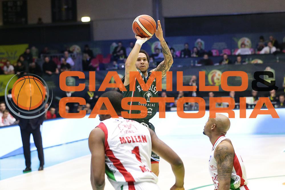 Moore Nic<br /> EA7 Emporio Armani Milano - Cantine Due Palme Brindisi<br /> Poste Mobile Final Eight F8 2017 <br /> Lega Basket 2016/2017<br /> Rimini, 16/02/2017<br /> Foto Ciamillo-Castoria / M. Brondi