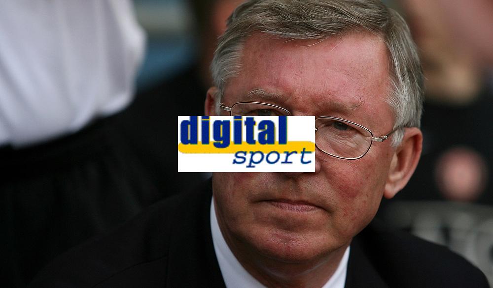 Photo: Paul Thomas.<br /> Watford v Manchester United. The FA Cup, Semi Final. 14/04/2007.<br /> <br /> Sir Alex Ferguson, manager of Utd.