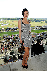 LEAH WELLER at the Investec Ladies Day at Epsom Racecourse, Surrey on 4th June 2010.