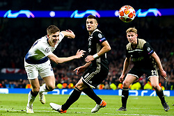 Juan Foyth of Tottenham Hotspur takes on Dusan Tadic of Ajax - Mandatory by-line: Robbie Stephenson/JMP - 30/04/2019 - FOOTBALL - Tottenham Hotspur Stadium - London, England - Tottenham Hotspur v Ajax - UEFA Champions League Semi-Final 1st Leg