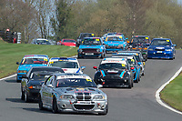 #54 Farard DARVER BMW E46 M3  during Armed Forces Race Challenge  as part of the 750 Motor Club at Oulton Park, Little Budworth, Cheshire, United Kingdom. April 14 2018. World Copyright Peter Taylor/PSP.