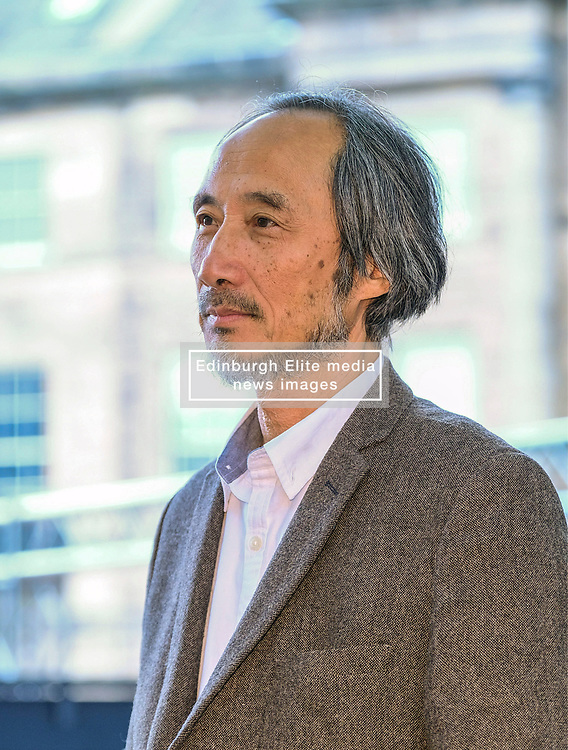 Edinburgh Book Festival, Tuesday, 13th August 2019<br /> <br /> Pictured: Writer and painter Ma Jian <br /> <br /> Alex Todd | Edinburgh Elite media
