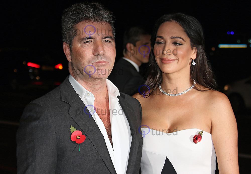 Simon Cowell & Lauren Silverman, Music Industry Trusts Award, Grosvenor House, London UK, 02 November 2015, Photo by Brett D. Cove