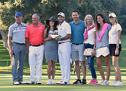 Sergio Garcia wins Valderrama masters 2017 and thanks his wife for her support, dedicating the win to her and their baby daughter. 22 Oct 2017 Pictured: Sergio Garcia wins Valderrama master 2017 with the unconditional support of his wife. Photo credit: MEGA TheMegaAgency.com +1 888 505 6342