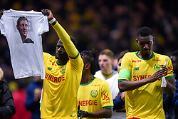 January 31, 2019 - Nantes, France - Ambiance - Hommage a Emiliano Sala - TRAORE Charles  (Credit Image: © Panoramic via ZUMA Press)