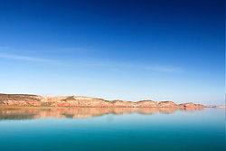 Beautiful refelctions from the McLarty Range in Talbot Bay on the Kimberley coast.