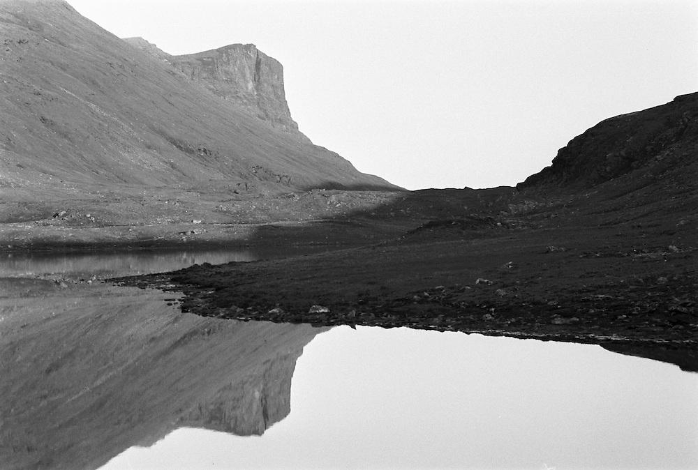 Sarek, Lappland. Sarek, nära gränsen mot Padjelanta