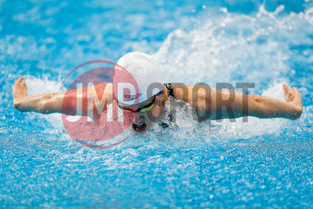 Hannah Miley of Great Britain competes in the Womens 400m IM Hets - Mandatory byline: Rogan Thomson/JMP - 16/05/2016 - DIVING - London Aquatics Centre - Stratford, London, England - LEN European Aquatics Championships 2016 Day 8.
