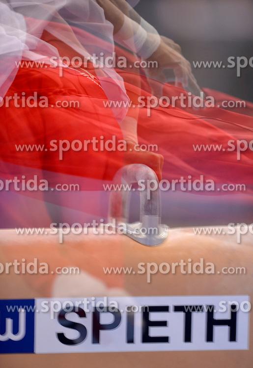30.11.2012, Porsche Arena, Stuttgart, GER, EnBW Turn Weltcup, 30. DTB Pokal, Team Wettbewerb, Qualifikation Herren, im Bild Multishot Impressionen// during qualifying men of Team competition of EnBW Gymnastics World Cup at the Porsche Arena, stuttgart, Germany on 2012/11/30. EXPA Pictures © 2012, PhotoCredit: EXPA/ Eibner/ Weber..***** ATTENTION - OUT OF GER *****