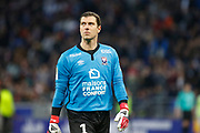Rémy Vercoutre of Caen during the French Championship Ligue 1 football match between Olympique Lyonnais and SM Caen on march 11, 2018 at Groupama stadium in Decines-Charpieu near Lyon, France - Photo Romain Biard / Isports / ProSportsImages / DPPI