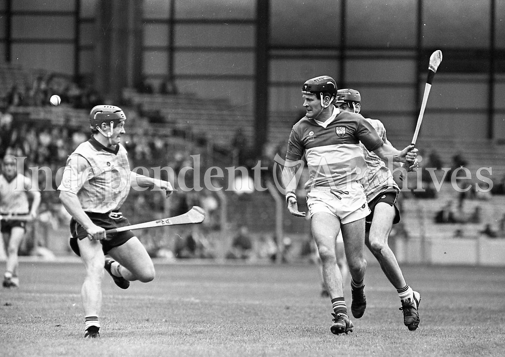 Leinster Senior Hurling Final between Dublin and Offaly at Croke Park. 08/07/1990<br /> (Part of the Independent Newspapers Ireland/NLI collection).