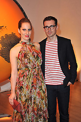 LIZ GOLDWYN and ERDEM MORALIOGLU at the TOD'S Art Plus Drama Party at the Whitechapel Gallery, London on 24th March 2011.