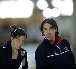 10-02-2008 SCHAATSEN: ISU WERELDKAMPIOENSCHAPPEN ALLROUND: BERLIJN <br /> Bart Veldkamp Trainer Coach<br /> ©2008-WWW.FOTOHOOGENDOORN.NL