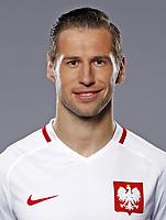 Uefa - World Cup Fifa Russia 2018 Qualifier / <br /> Poland National Team - Preview Set - <br /> Grzegorz Krychowiak