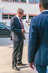 22.04.2018, Wahlzentrum, Salzburg, AUT, Salzburger Landtagswahl, im Bild SPÖ Spitzenkandidat Walter Steidl // during the Salzburg state election 2018 in the election center in Salzburg, Austria on 2018/04/22. EXPA Pictures © 2018, PhotoCredit: EXPA/ JFK