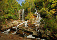 Twin Falls near Picken's, SC.