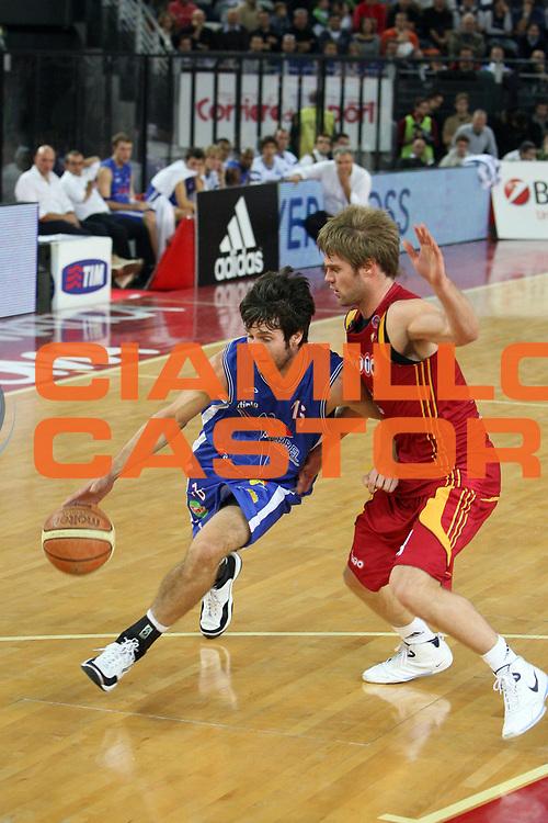 DESCRIZIONE : Roma Lega A1 2007-08 Lottomatica Virtus Roma Pierrel Capo d'Orlando<br /> GIOCATORE : Drake Diener<br /> SQUADRA : Pierrel Capo d'Orlando<br /> EVENTO : Campionato Lega A1 2007-2008 <br /> GARA : Lottomatica Virtus Roma Pierrel Capo d'Orlando<br /> DATA : 21/10/2007 <br /> CATEGORIA : palleggio<br /> SPORT : Pallacanestro <br /> AUTORE : Agenzia Ciamillo-Castoria/E.Castoria