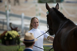 Algotsson-Ostholt Sara, SWE, Reality 3<br /> Final Horse inspection Eventing<br /> Olympic Games Rio 2016<br /> © Hippo Foto - Dirk Caremans<br /> 09/08/16