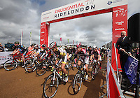 {Prudential RideLondon-Surrey Classic<br /> Prudential RideLondon, the world's greatest festival of cycling, involving 70,000+ cyclists – from Olympic champions to a free family fun ride - riding in five events over closed roads in London and Surrey over the weekend of 9th and 10th August. <br /> <br /> Photo: Roger Allen for Prudential RideLondon<br /> <br /> See www.PrudentialRideLondon.co.uk for more.<br /> <br /> For further information: Penny Dain 07799 170433<br /> pennyd@ridelondon.co.uk