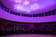 The annual Christmas Tree Lighting in the Hemmingson Rotunda (GU photo by Amanda Ford)