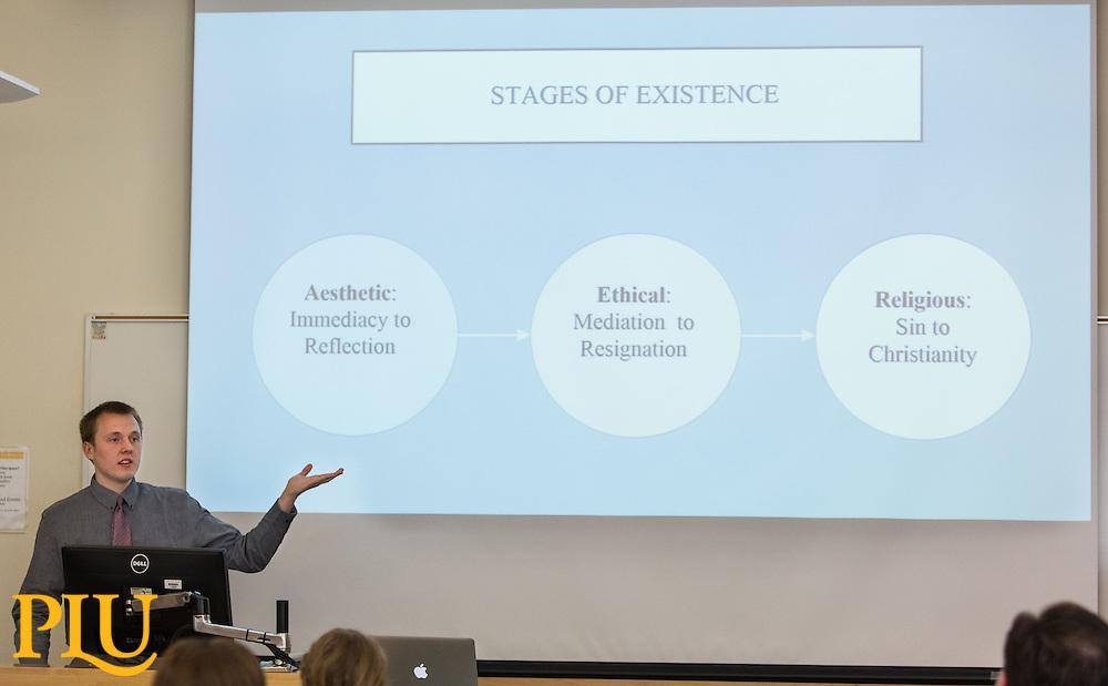 Philosophy Capstone presentation at PLU on Friday, May 20, 2016. (Photo: John Froschauer/PLU)
