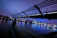 Europa - Londres, UK - Millennium Bridge - foto: Daniel Deák - foto: Daniel Deák