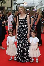 Laura Carmichael, BAFTA Celebrates Downton Abbey, Richmond Theatre, London UK, 11 August 2015, Photo by Richard Goldschmidt /LNP © London News Pictures.