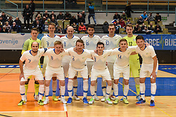 Team Slovenia before futsal friendly match between National teams of Slovenia and Italy, on December 3, 2019 in Maribor, Slovenia. Photo by Milos Vujinovic / Sportida