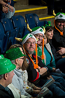 KELOWNA, CANADA - MARCH 18:  Fans on March 1, 2018 at Prospera Place in Kelowna, British Columbia, Canada.  (Photo by Marissa Baecker/Shoot the Breeze)  *** Local Caption ***