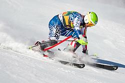 12.12.2010, The Bellevarde race piste, Val D Isere, FRA, FIS World Cup Ski Alpin, Men, Slalom, im Bild MILLER Bode USA  straddles a control gate and is disqualified in the FIS alpine skiing world cup slalom race on the Bellevarde race piste Val D'Isere. EXPA Pictures © 2010, PhotoCredit: EXPA/ M. Gunn