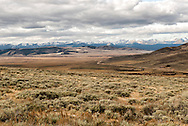 Big Hole Valley & Pass, Hamilton Ranch, Valley of 10,000 Haystacks, SW Montana, Bitterroot Mountains