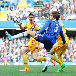 Marcos Alonso of Chelsea controls the ball during Chelsea vs Crystal Palace, Premier League , 01.04.17 (c) Harriet Lander | SportPix.org.uk