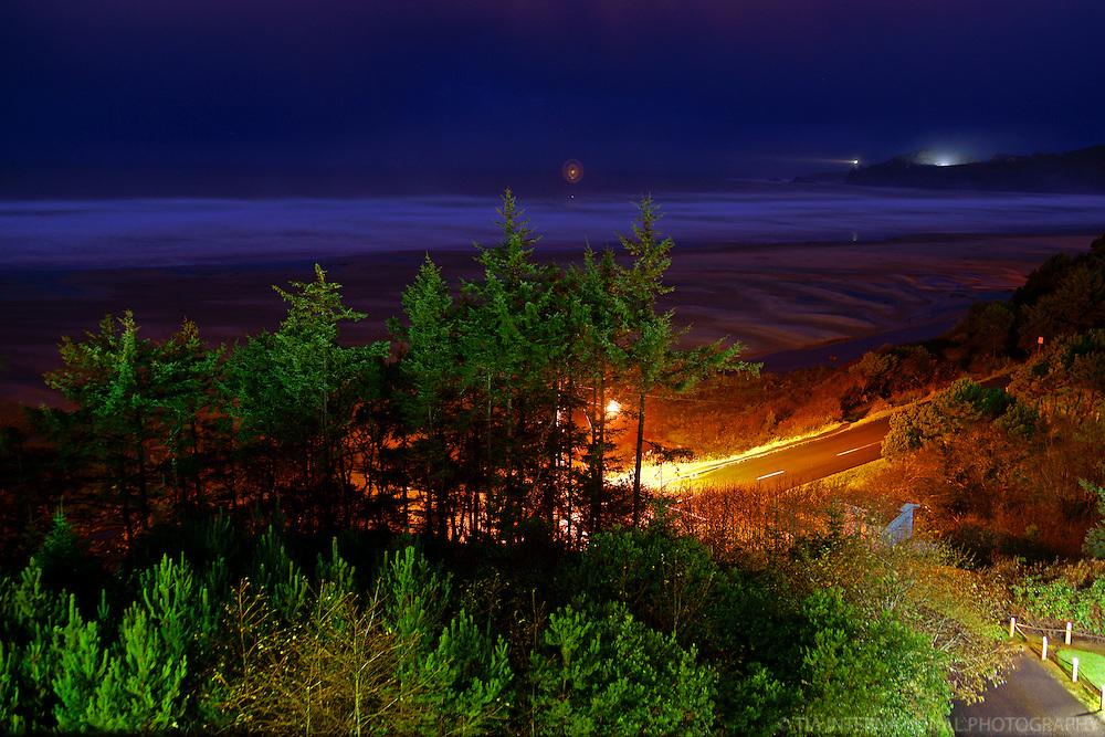 Agate Beach @ Night