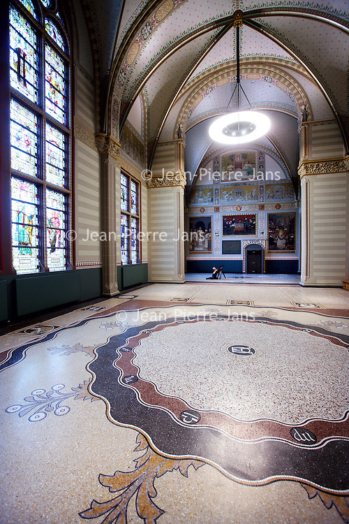 Nederland, Amsterdam , 25 mars 2013..Rijksmuseum..Les halles renovés..Foto:Jean-Pierre Jans