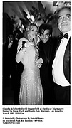 Claudia Schiffer & David Copperfield at the Oscar Night party hosted by Steve Tisch and Vanity Fair. Morton's. Los Angeles. March 1995. 95552/16<br />© Copyright Photograph by Dafydd Jones<br />66 Stockwell Park Rd. London SW9 0DA<br />Tel 0171 733 0108