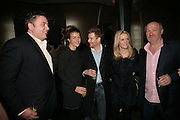 RICHARD CORRIGAN, AMBER NUTTALL, BRYN WILLIAMS, EDITH BOWMAN AND VINCE POWER. Berkeley Square Ball launch at Nobu in Berkeley St.  for BSquareB fundraiser represented by Vince Power,  ( Ball takes place September 27. )  27 March 2007. -DO NOT ARCHIVE-© Copyright Photograph by Dafydd Jones. 248 Clapham Rd. London SW9 0PZ. Tel 0207 820 0771. www.dafjones.com.