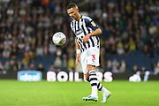 West Bromwich Albion defender Kieran Gibbs (3) looks to release the ball during the EFL Sky Bet Championship match between West Bromwich Albion and Reading at The Hawthorns, West Bromwich, England on 21 August 2019.