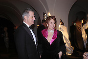 Charles Girardot, Marie Girardotl. Dinner to unveil the Van Cleef & Arpels jewellery collection 'Couture' with fashion by Anouska Hempel Couture. The Banqueting House, Whitehall Palace, London on 8th March 2005.ONE TIME USE ONLY - DO NOT ARCHIVE  © Copyright Photograph by Dafydd Jones 66 Stockwell Park Rd. London SW9 0DA Tel 020 7733 0108 www.dafjones.com