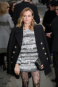 DIANE KRUGER ARRIVES AT THE PARADE ' CHANEL ' AT THE FASHION WEEK IN PARIS<br /> ©Exclusivepix Media