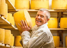 Willie Rennie MSP visits Fife cheese factory | Pitenweem | 28 April 2017