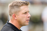 JACKSON, MS - AUGUST 26:  Head Coach Sean Payton of the New Orleans Saints during a game against the Indianapolis Colts on August 26, 2006 at Veterans Memorial Stadium in Jackson, Mississippi.  The Colts won 27 to 14.  (Photo by Wesley Hitt/Getty Images) *** Local Caption *** Sean Payton