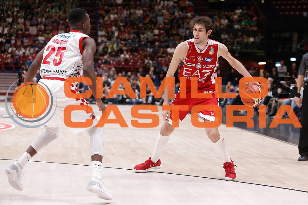 Pascolo Davide<br /> EA7 Olimpia Milano - The Flexx Pistoia<br /> Legabasket Serie A 2017/18<br /> Milano, 06/05/2018<br /> Foto MarcoBrondi / Ciamillo-Castoria