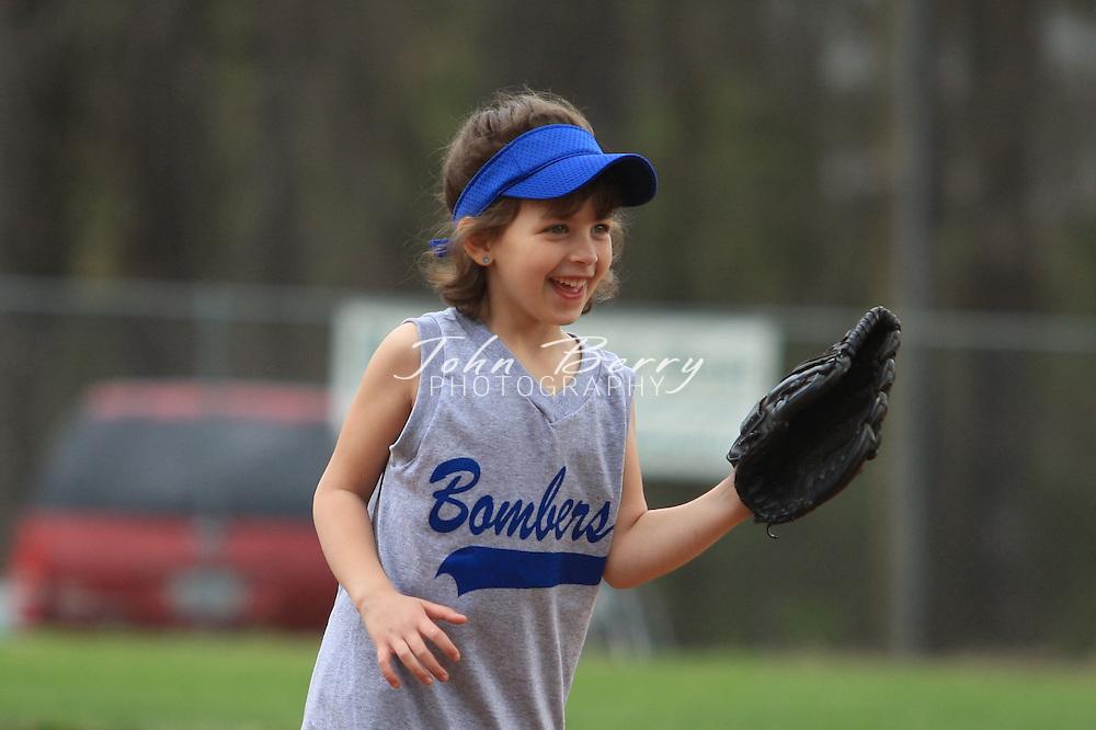 MPR Softball, 8U .Little Cubbies vs Bombers.4/12/08