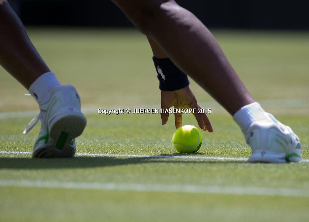 Wimbledon Feature<br /> <br /> Tennis - Wimbledon 2015 - Grand Slam ITF / ATP / WTA -  AELTC - London -  - Great Britain  - 1 July 2015.