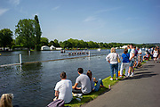 Henley on Thames, England, United Kingdom, 28th June 2019, Henley Royal Regatta Qualifiers, time trial, on Henley Reach, [© Peter SPURRIER/Intersport Image]<br /> <br /> 14:55:33